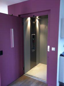mini-ascenseur pour maison particulière