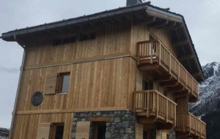 ascensur privatif dans chalet de montagne