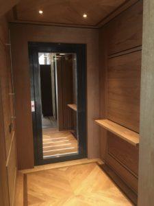 mini-ascenseur maison d'architecte