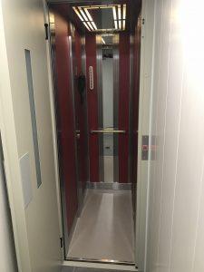 Ascenseur privatif étroit